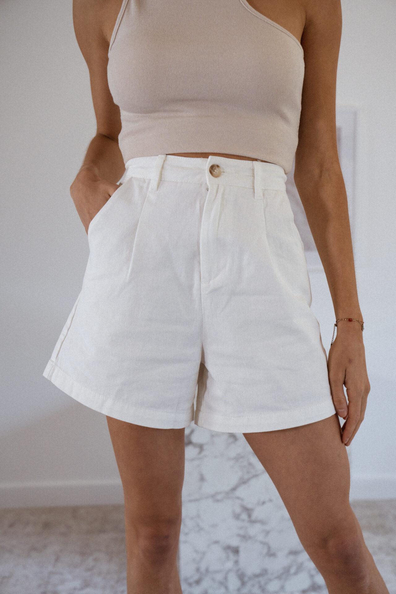 Short-long-blanc-bermuda-femme